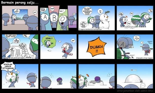 perang salju