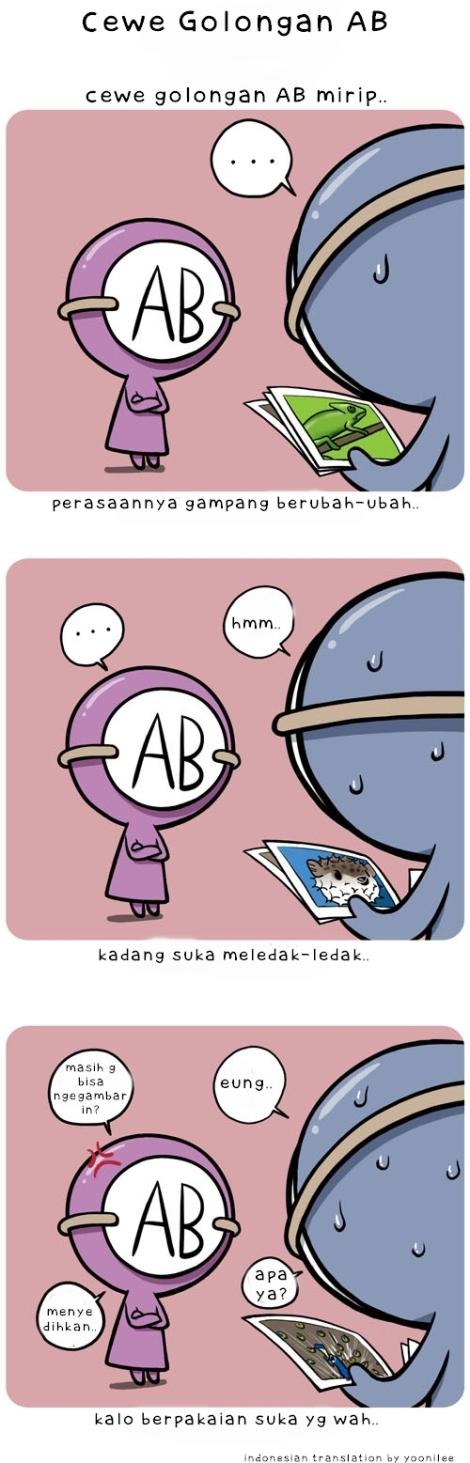 cewe-golongan-ab